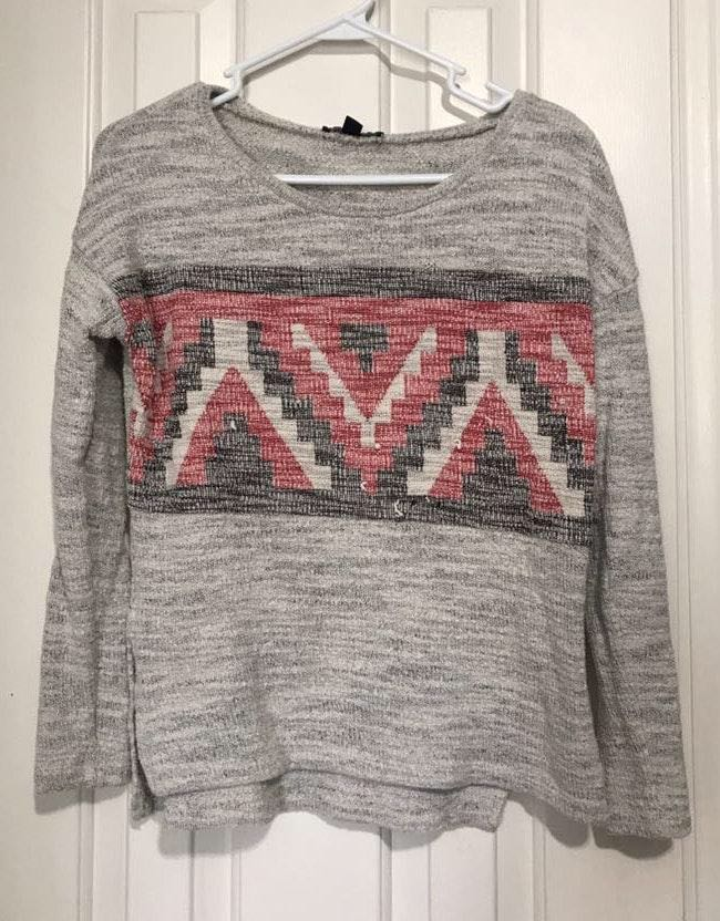 4954ecdc072 American Eagle Outfitters Aztec Sweater