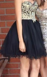 & Other Stories Black Homecoming Dress