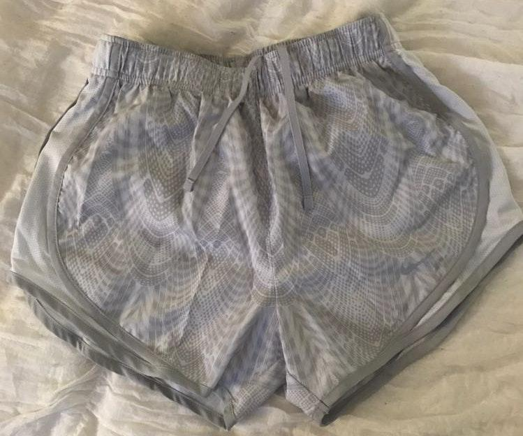 Nike Gray Patterned Tempo Short