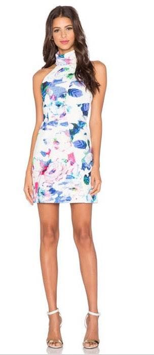 Finders Keepers High Neck Dress