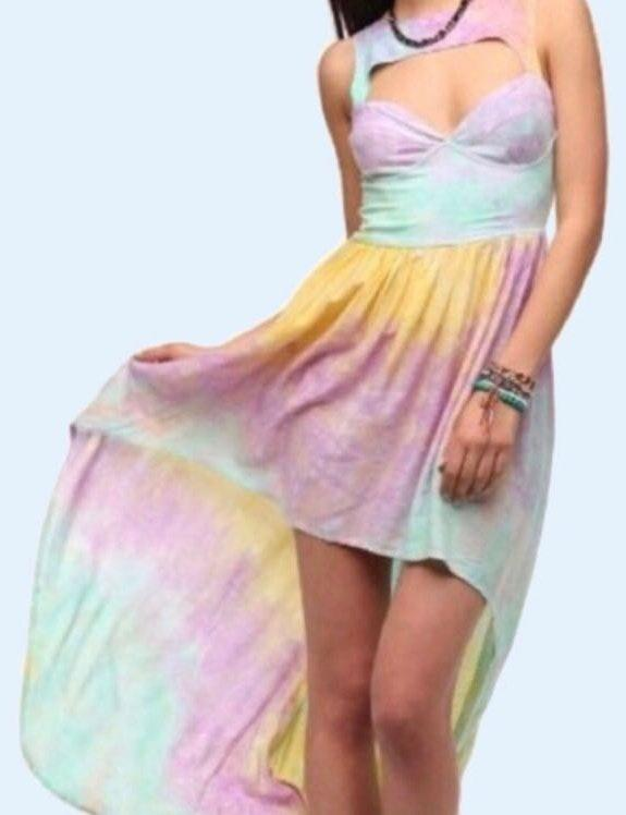 Nasty Gal This Is A Love Song Tie Dye Dress