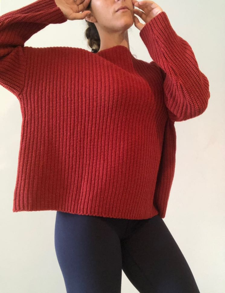 Vince Oversized Wool Sweater