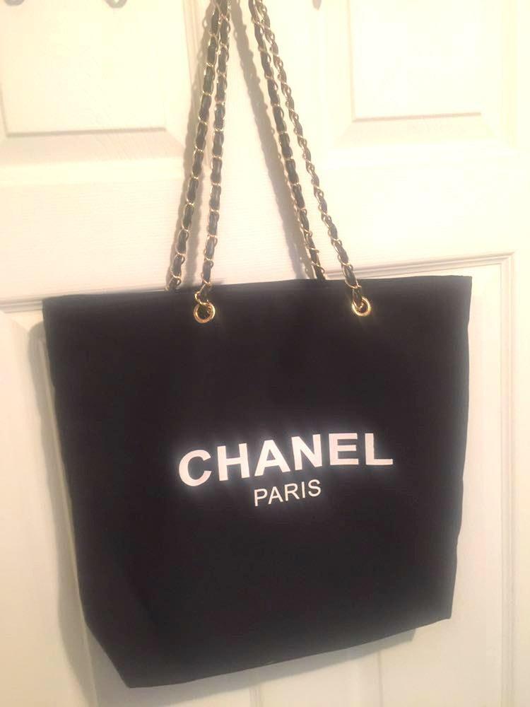 Chanel Vip Canvas Tote
