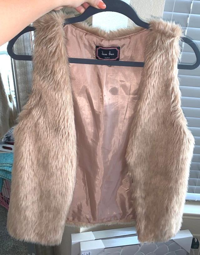 Apricot Lane Fur Vest