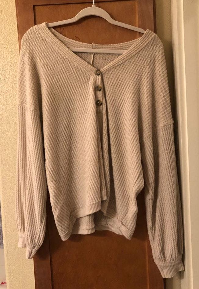 American Eagle Outfitters Soft And Sexy Oversized Sweater