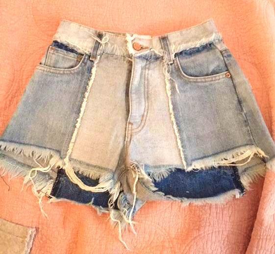 Revice Denim 2 Pairs Ziggy Shorts Brand New