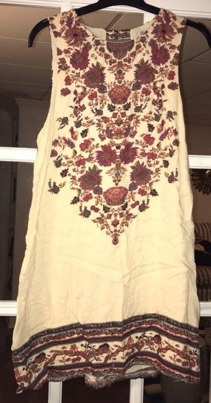 Ecote Printed Mini Dress