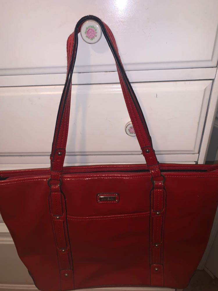 nine&co super cute red purse