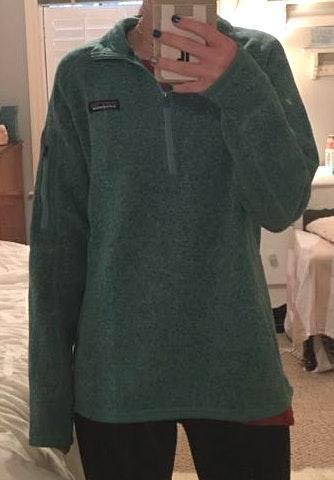 Turquoise Patagonia Better Sweater 1/4-Zip Fleece Jacket