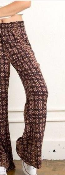 Brandy Melville Boho Patterned Pants