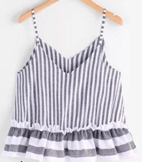 SheIn Striped Tank Top