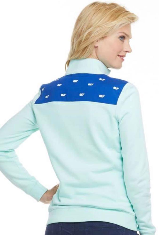 Vineyard Vines Women's Whale Embroidered Sweatshirt