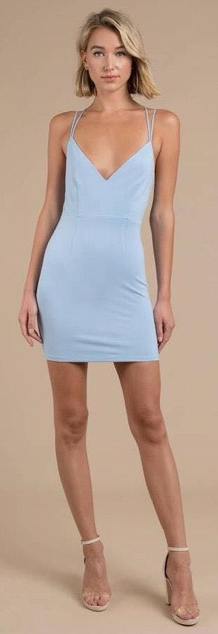 Tobi Blue Short Dress