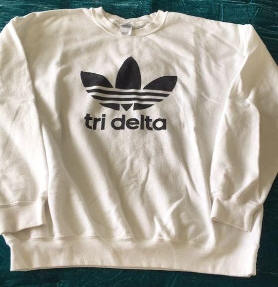 Adidas Tri Delta Sweatshirt