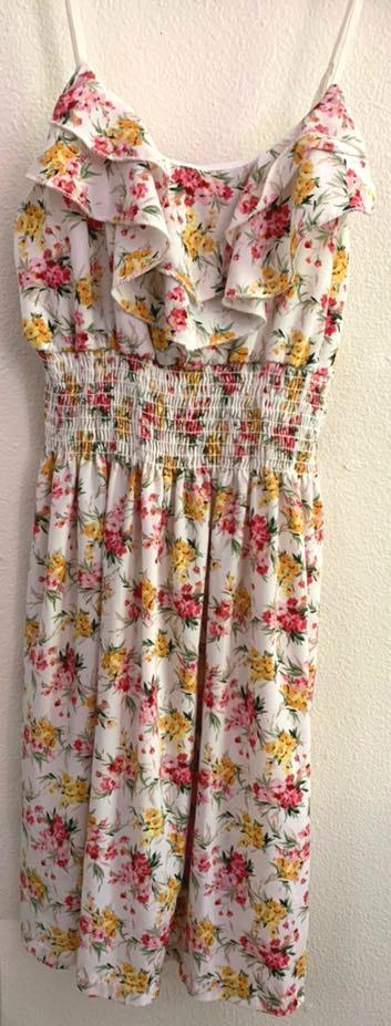 Body Central Floral  Sundress