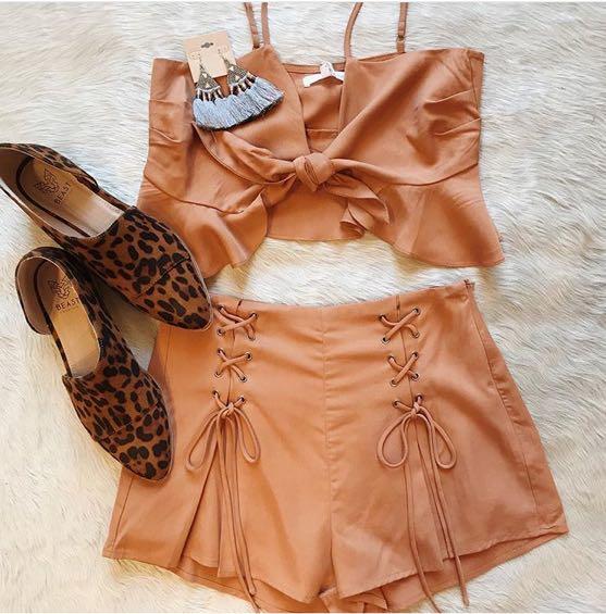 Honey Belle Burnt Orange Set