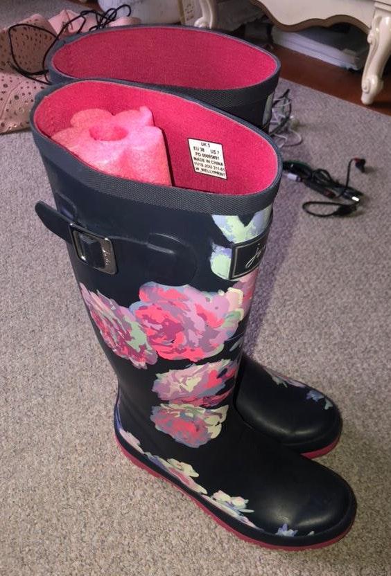Amazon Flower Rain boots