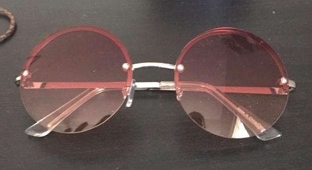 Free People Round Sunglasses