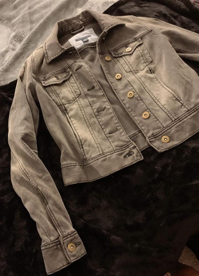 Tommy Hilfiger Black Denim Jacket