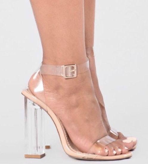 f7a415b1ea6 Fashion Nova The Glass Slipper- Transparent Heels