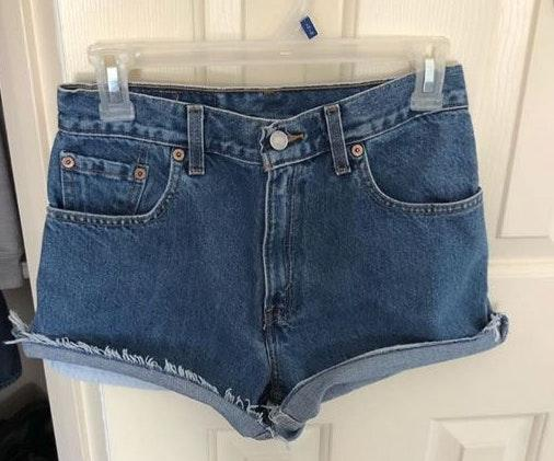Levi's High waisted Cut Off Shorts