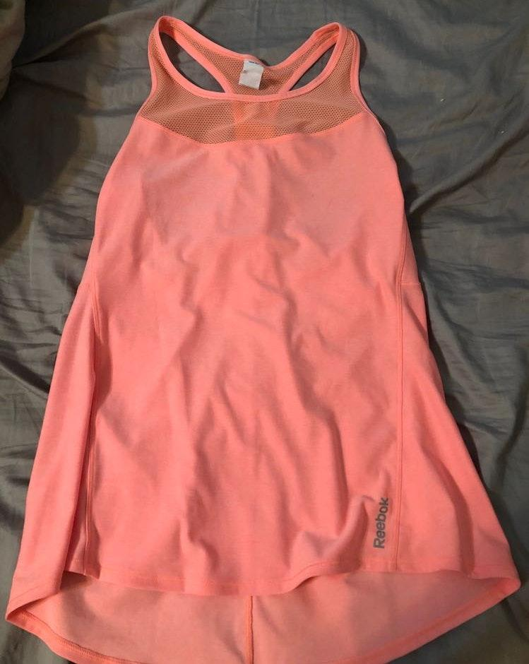 Reebok Peach Workout Tank