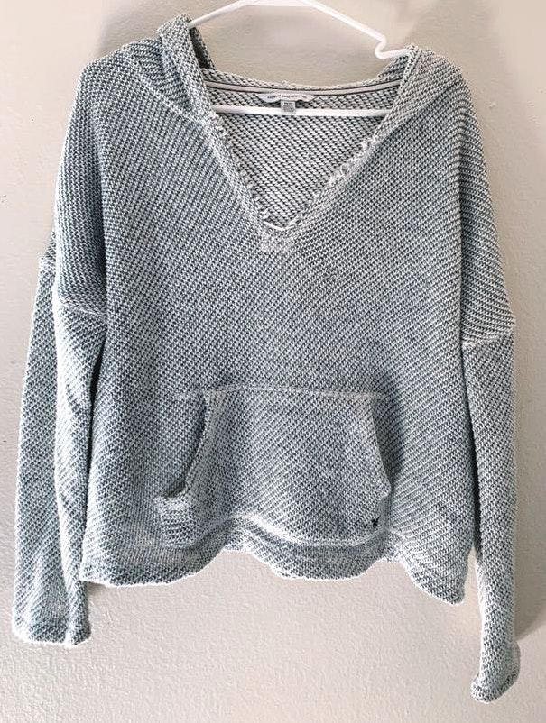 American Eagle Outfitters Knit Hoodie