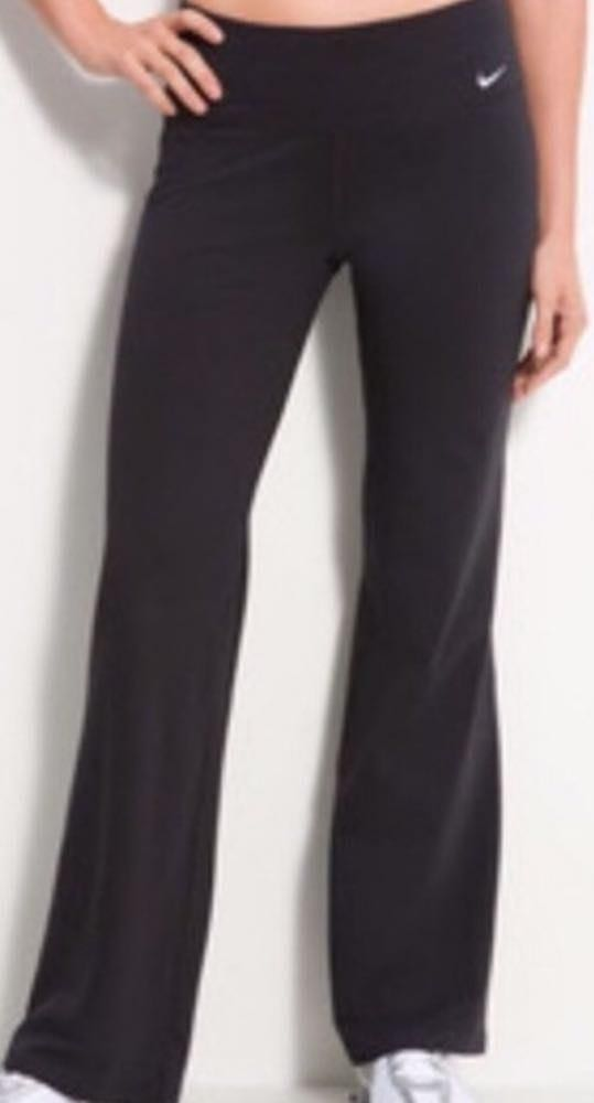 Nike Black  Dri-fit Yoga Pants
