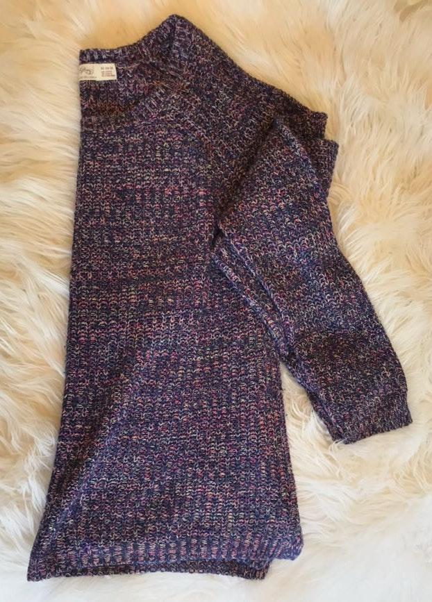 Faded Glory Multi Color Sweater