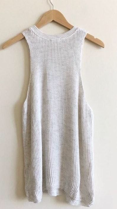 Urban Outfitters Grey Sweater Tank