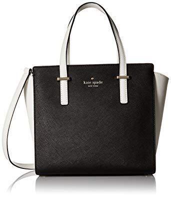 Kate Spade Black And White Handbag