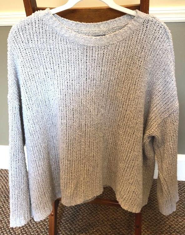 Aerie Gray  Sweater