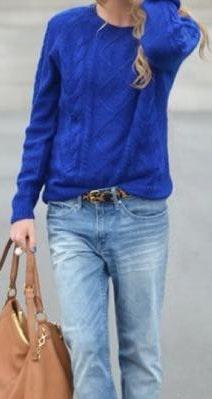 Divided H&M Blue Sweater