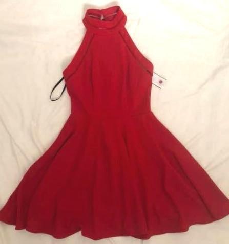 Macy's Red Dress