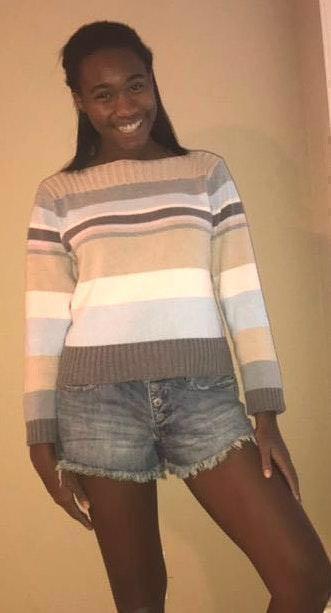 Liz Claiborne Color Block Sweater