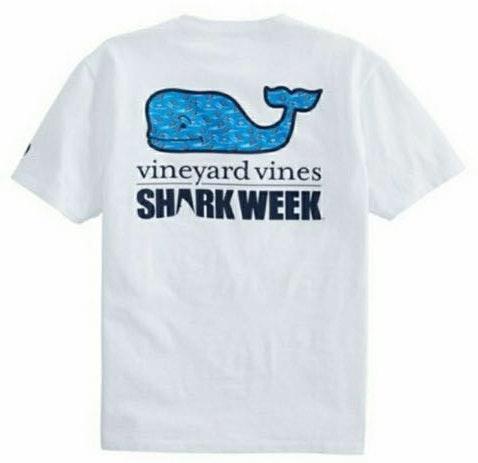 Vineyard Vines Women's 2018 Edition Shark Week T-shirt