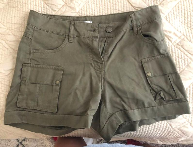 Barbour Green Shorts