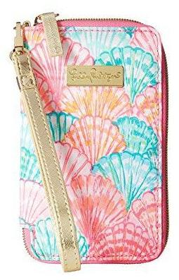 Lilly Pulitzer Oh Shello Wristlet