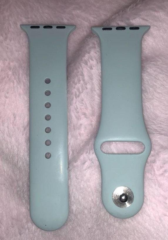 Apple Light Blue  Watch 38MM Band