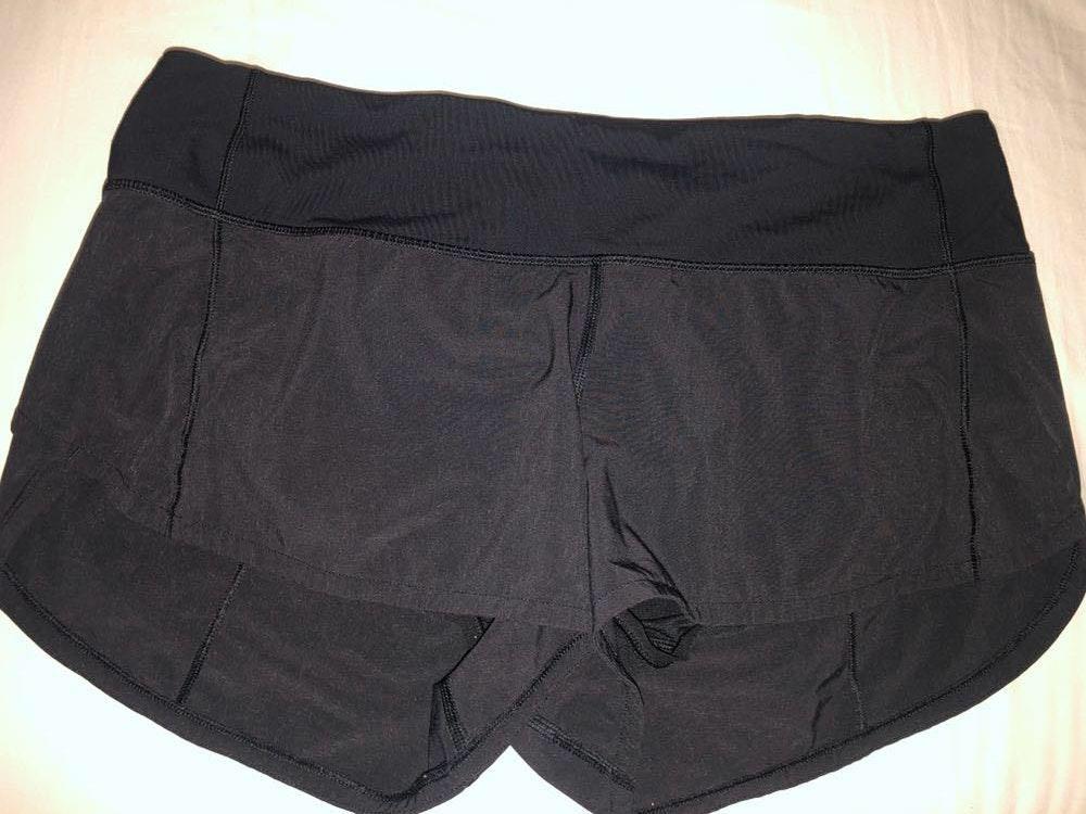 Lululemon Black 2.5 Speed Up Shorts