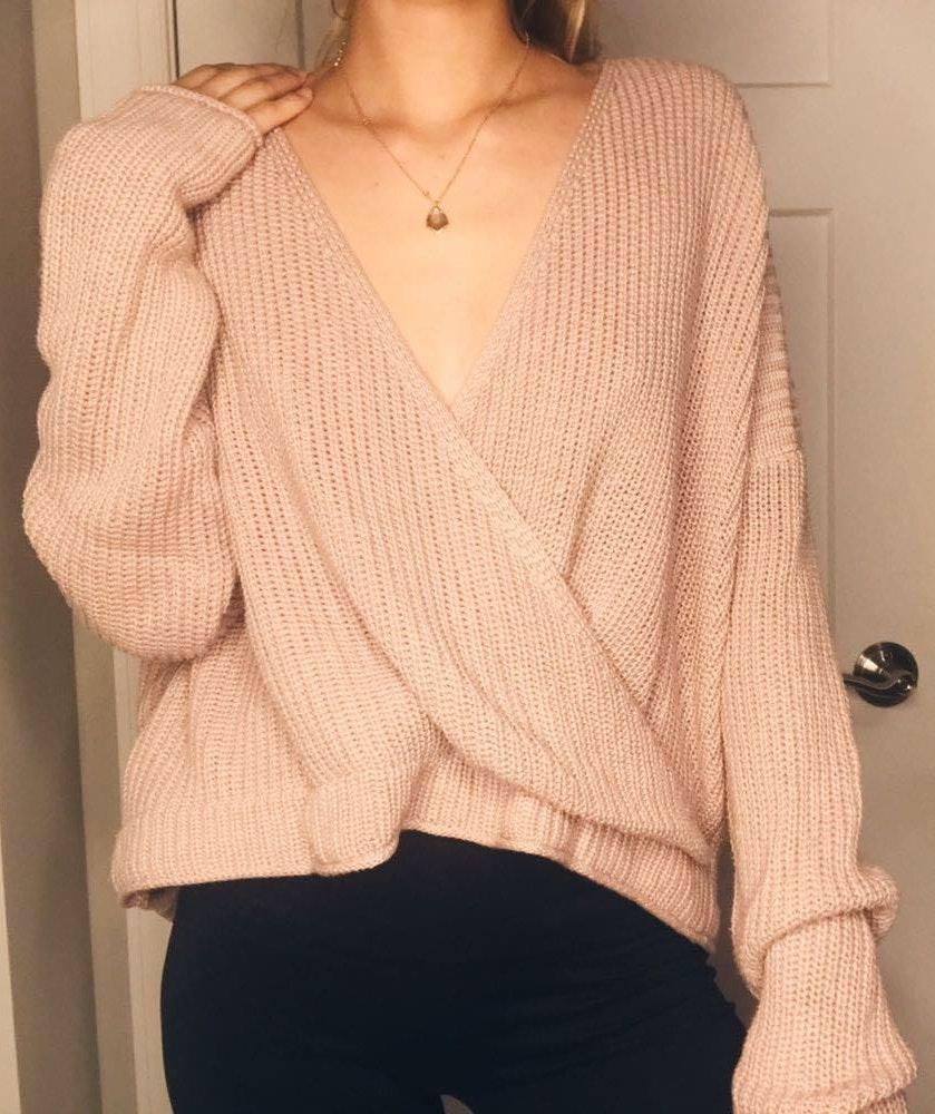 TJ Maxx Pink sweater!