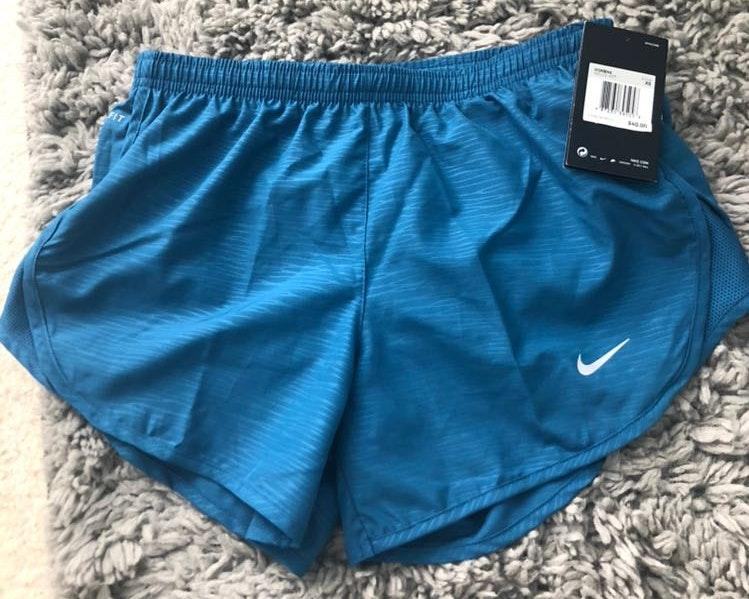 Nike Blue  Running Shorts