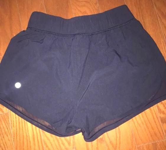 Lululemon Reversible Navy Shorts