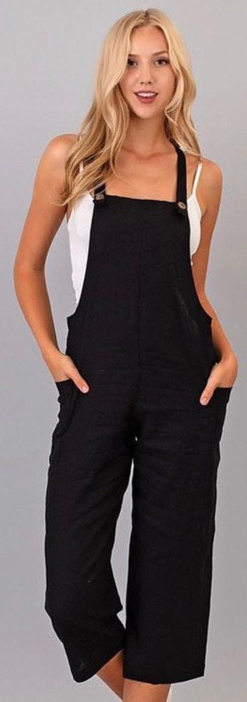 Boutique Black Jumpsuit - M