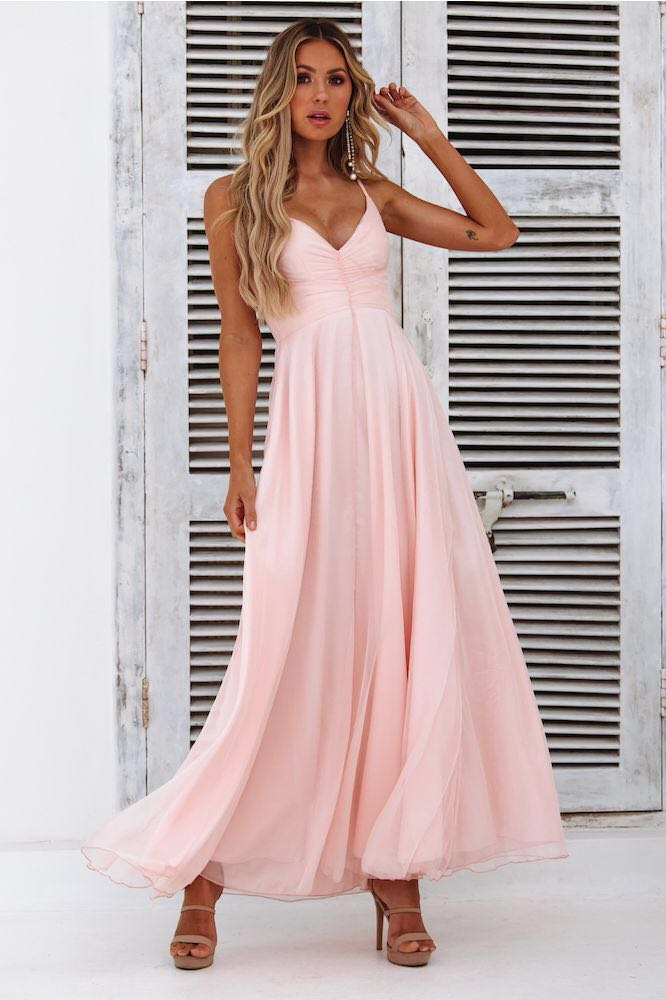 Hello Molly Pink Formal Dress