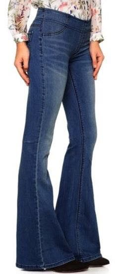Free People Pull On Flare Jeans