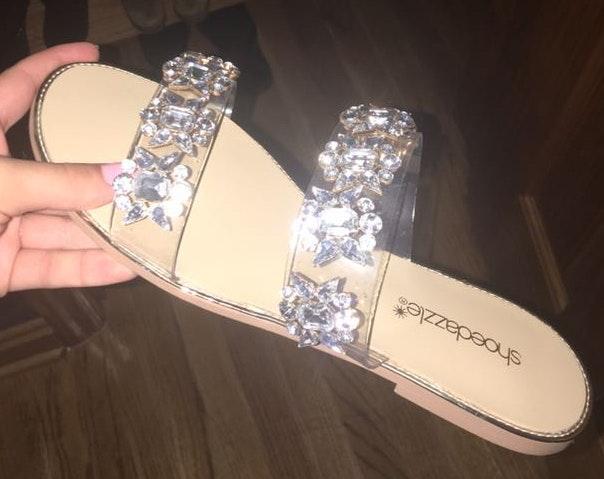 Shoedazzle Diamond Sandals