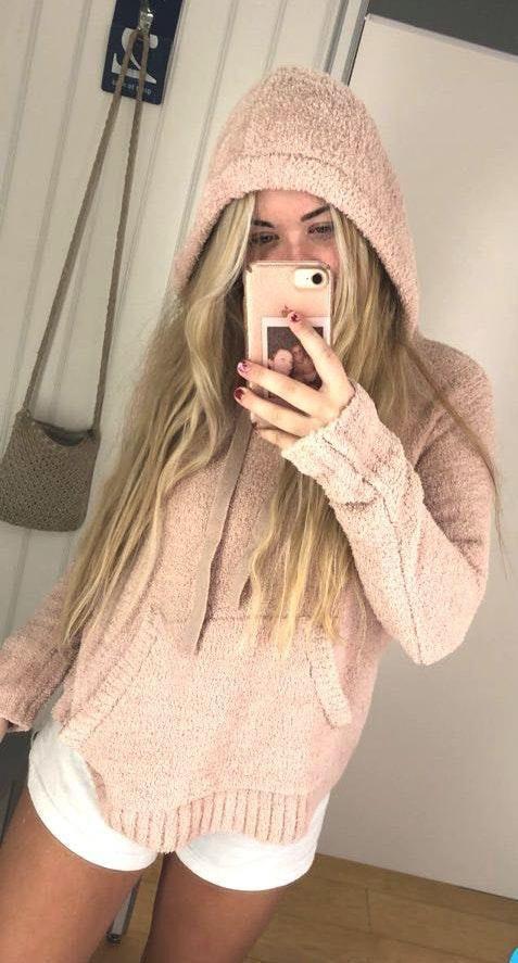 Fuzzy sweatshirt