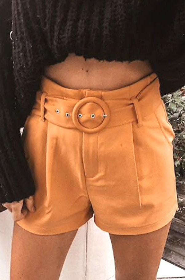 Forever 21 NWOT Mustard Shorts