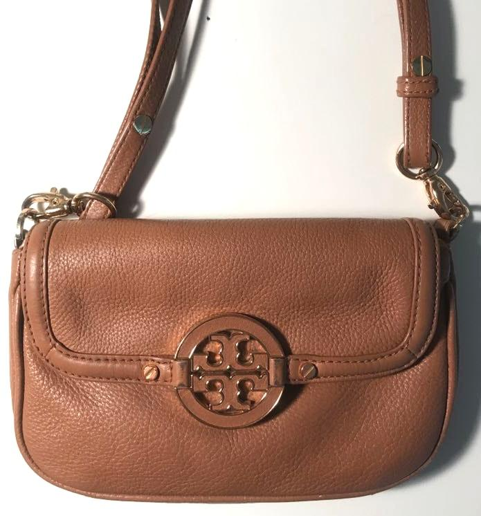 Tory Burch small brown crossbody purse